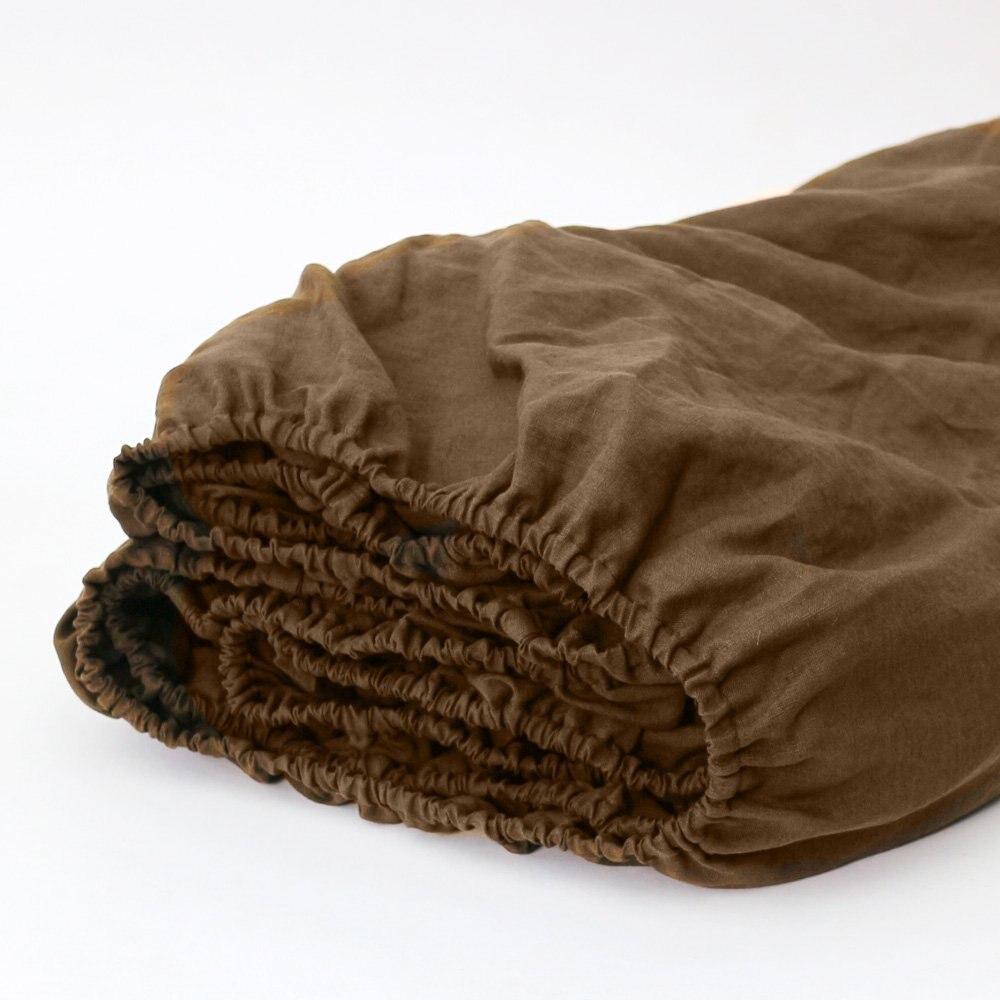 4 pièces lin blanc européen pur linge ensemble de draps pur linge de lit ensemble de literie français draps housse de luxe noël taie d'oreiller plat