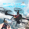 New JJRC H11WH professional wifi fpv Rc Drone With 2.0 MP Camera altitude hold mode 3D Flip Helicopter vs x601h u919a rc drone
