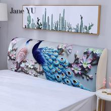 JaneYU 2019 New Fashion Dust-proof Cover 1.5 Mm 1.8 M 2.2M 2.4M Simple Modern Leather Bed Soft-wrapped Fabric Protective