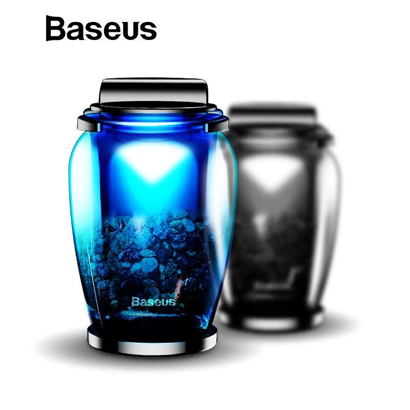 Baseus ароматерапия автомобильный держатель освежитель воздуха Духи для дома вентиляционное отверстие Outlet Авто диффузор очиститель одноцвет…