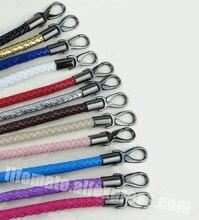 DIY 52cm Short 1 2cm Replacement Straps Colorful PU Leather Purse Handles for Handbags Belt Bag