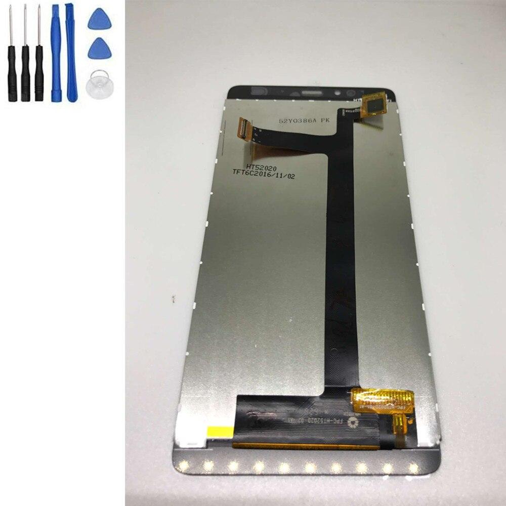 imágenes para Herramientas de reparación + Probado Bien ELEPHONE S3 Pantalla LCD + Pantalla Táctil Digitalizador Asamblea Reemplazo de la Reparación Negro Blanco
