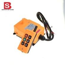 6 canaux 1 émetteur 1 contrôle de vitesse grue système de télécommande Radio