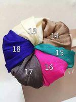 10 Piece Lot Hijab Shimmer Glitter Shinny Scarf Hijab Viscose Foulard Women Shawls Tassel Muslim Lurex