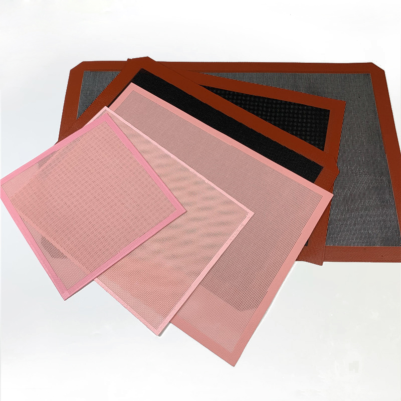 Round Silicone Baking Mats Of Non Stick And Easy To Use And Clean For Mousse Cake And Pudding