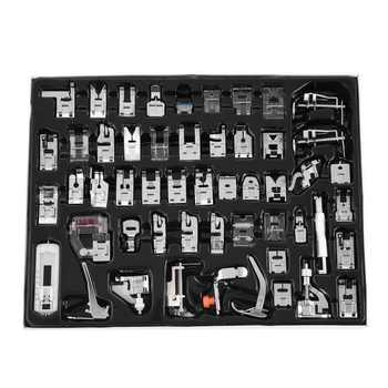 32/42/48/52 Pcs Sewing knitting crochet Domestic Machine Blind Stitch Darning Presser Foot Feet Kit Set For Brother Singer Janom - DISCOUNT ITEM  0% OFF All Category