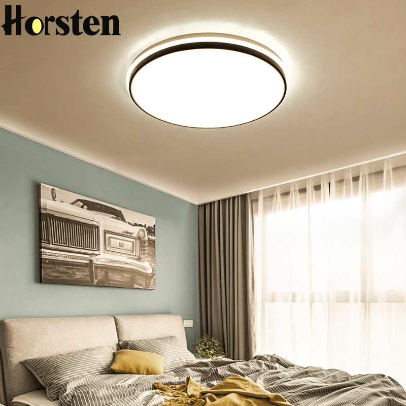 Horsten LED Ceiling Lights With Remote Control 36W 5cm Thin Bedroom Ceiling Lamp For 8-28 Square Meters Modern House LightingHorsten LED Ceiling Lights With Remote Control 36W 5cm Thin Bedroom Ceiling Lamp For 8-28 Square Meters Modern House Lighting
