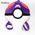 Anime Cartoon Monsters Ball Plush Backpack Bag Soft Stuffed Animal Dolls for Children Kids' Toy AP0249