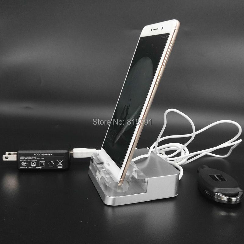 Système d'alarme de téléphone portable Upstanding magasin Mobile antivol au détail exposition affichage de sécurité pour Huawei OPPO Iphone Vivo Samsung