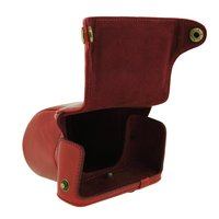 CES Hot For Pentax Q Q10 Camera Case 8 5mm 5 15mm Lens PU Leather Case