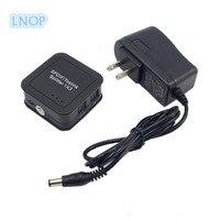 LNOP Portable Mini SPDIF TOSLINK Fiber Divider Digital Optical 1x3 1 Input 3 Output Audio Splitter