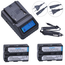 2pc 7.2V NP-FM500H NP FM500H Rechargeable Camera Battery + LCD Quick Charger For Sony FM500H A57 A65 A77 A99 A350 A550 A580 A900(China)