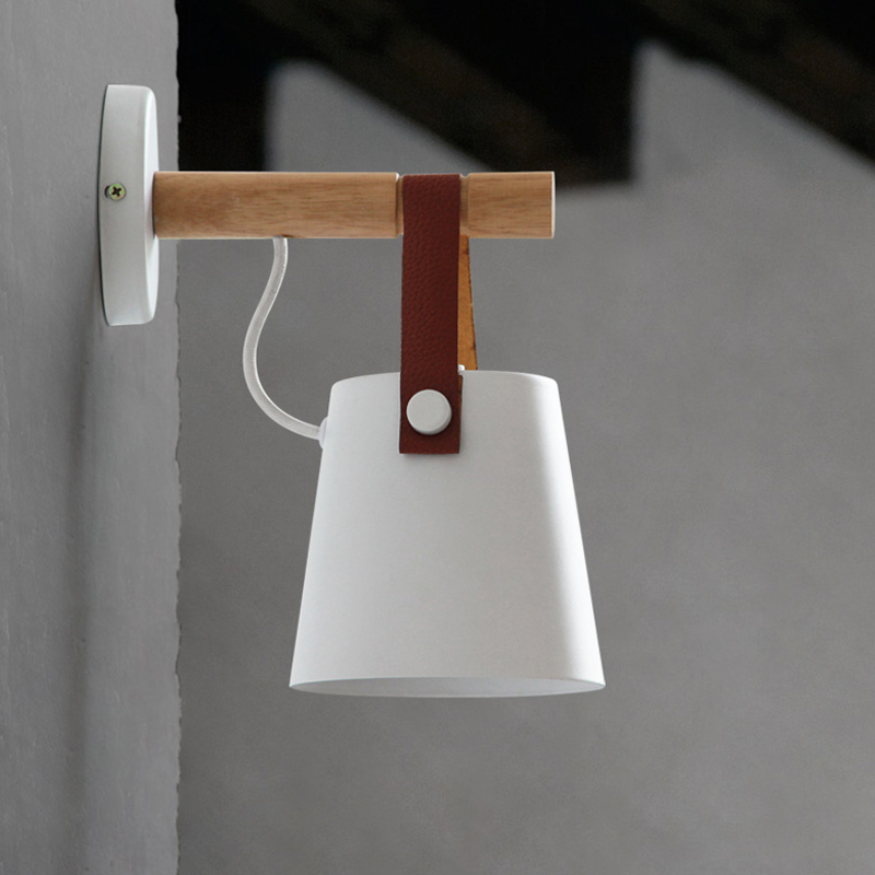 LED-Wall-Lamps-Abajur-for-Living-Room-Wall-Sconces-Light-E27-Nordic-Wooden-belt-Wall-Light (2)