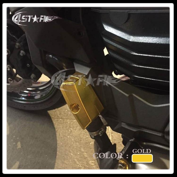 Aluminum Motorcycle Frame Guard Crash Cover Pad Engine Stator Starter Sliders Protector For Z800 13-15 Z1000 07-09 Z750 04-14