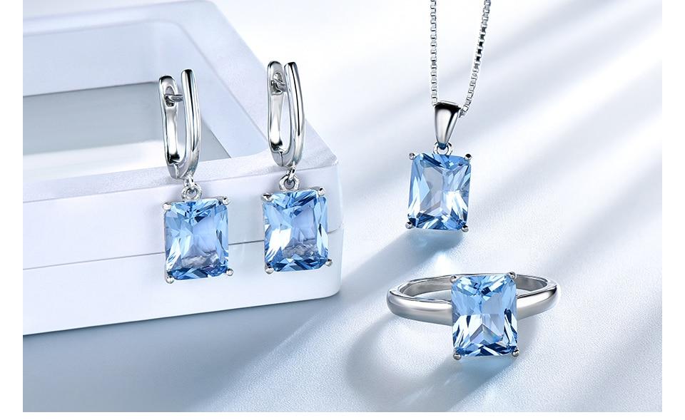 silver jewelry set for women  brand fine jewelry (11)