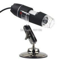 Sale 200 million pixels 50X-500X USB Portable Digital Microscope 2.0MP Endoscope Magnifier Camera With 8 LED
