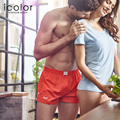 Icolor men underwear shorts solid men underwear boxer shorts algodón calzoncillos boxers underwear homme homewear para hombres qd070