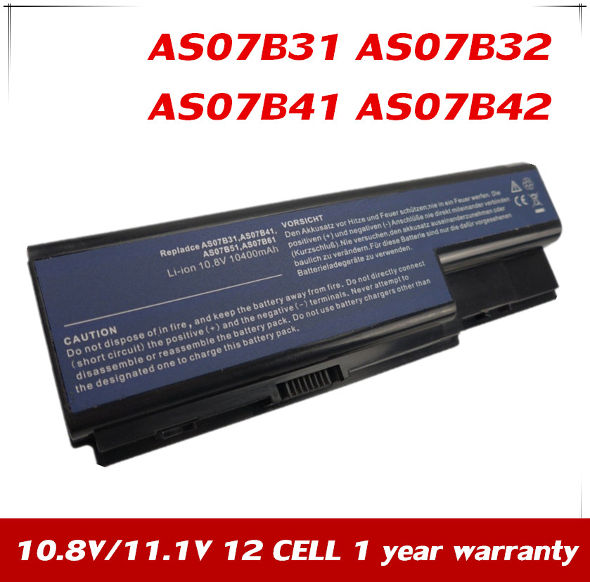 Jpyuasa As07b31 As07b41 As07b71 Battery For Acer Aspire
