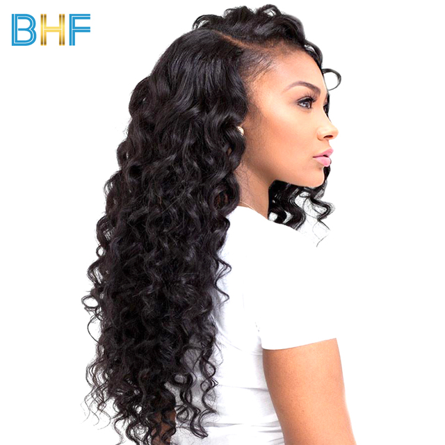 Bhf Indian Deep Wave Hair Bundles 1 Pc Raw Virgin Hair Bundles