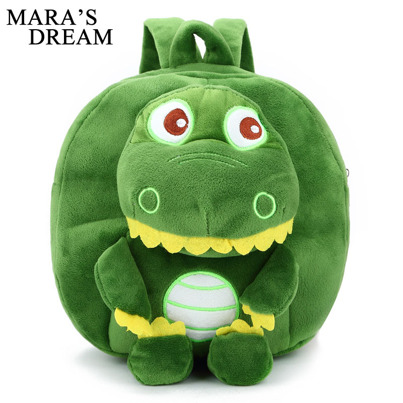 Mara's Dream Cute Children's School Bag Cartoon Mini Plush Backpack Kindergarten Boys Girls Baby Kids Student Lovely Schoolbag girls mini messenger bag cute plush cartoon kids baby small coin purses lovely baby children handbags kids shoulder bags bolsa