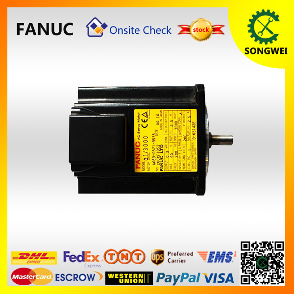 Ac Motor Clever Fanuc Servo Motor A06b-0371-b575 Bright In Colour