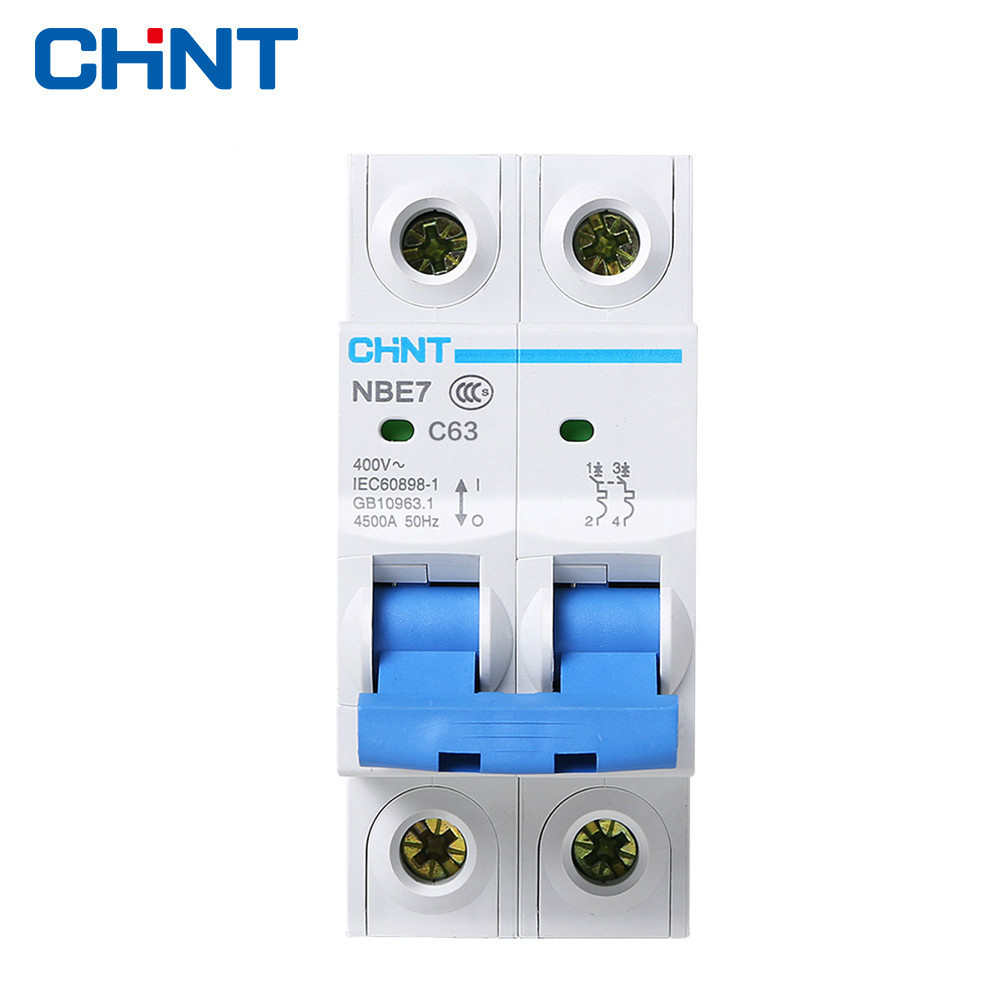 CHINT Home Air Open NBE7 2P 63A Air Switch C63 Circuit Breaker Protector цена 2017