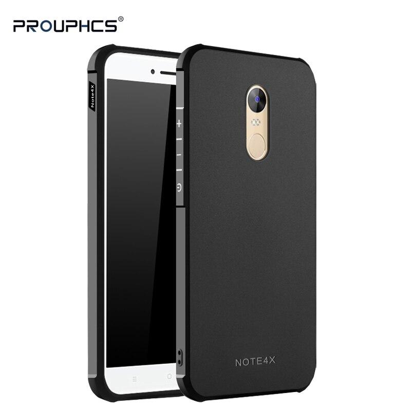 Prouphcs Per Xiaomi Redmi Nota Caso Molle di TPU Silicone 4X per il caso di Xiaomi Redmi Nota 4X Completa Protettiva Antiurto Telefono caso