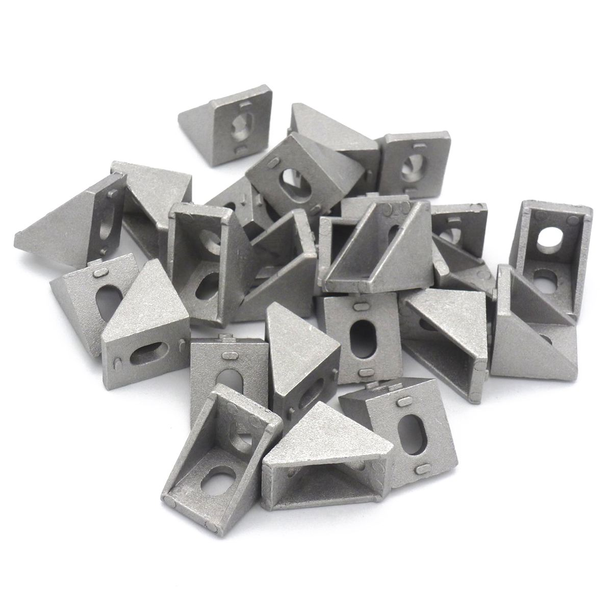 2020 Corner Bracket for 20mm Extrusion Size 20x20x17mm Pack of 25 2020 corner bracket corner bracket 2020 corner - title=