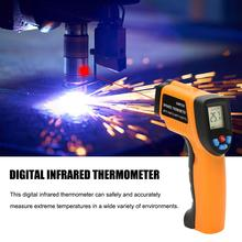 GM550 -50~550 C Digital Infrared Thermometer Pyrometer Aquarium Outdoor Thermodetector