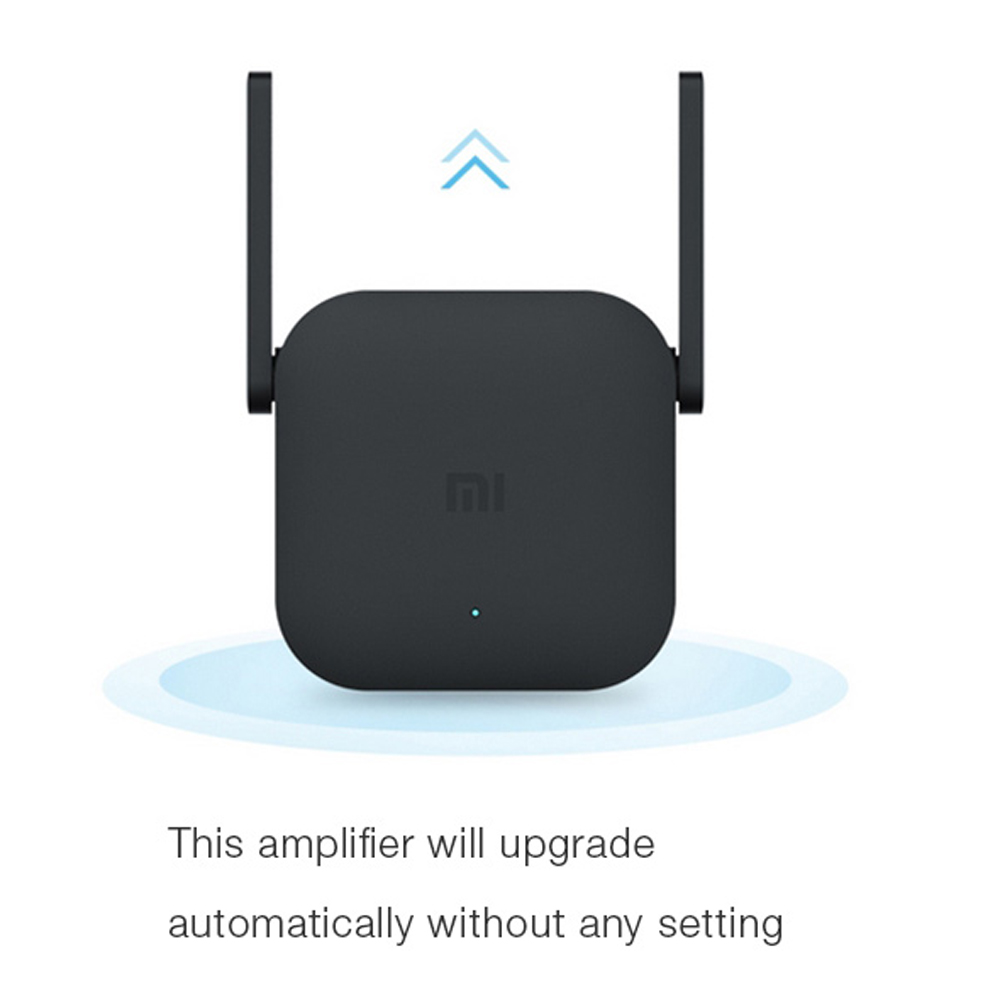 Image 2 - Xiaomi Mijia WiFi Repeater Pro 300M Mi Amplifier Network Expander Router Power Extender Roteador 2 Antenna for Router Wi Fi-in Wireless Routers from Computer & Office