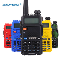 vhf uhf Baofeng UV5R מכשיר הקשר שני הדרך רדיו UV5R משדר 128CH 5W VHF UHF 136-174Mhz & 400-520Mhz Band Dual (2)