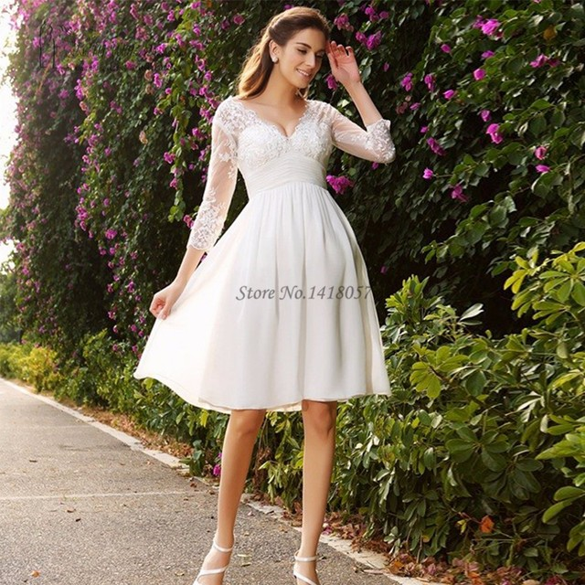 Short Maternity Wedding Dresses: 2016 Cheap Vintage Maternity Pregnant Wedding Dress Plus