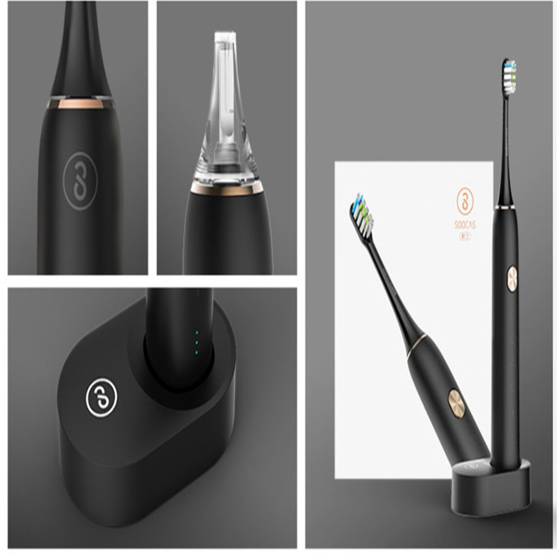 Xiaomi Electric Toothbrush  Upgraded Electric Rechargeable  Smart Sonic Brush Ultrasonic Whitening Teeth vibrator Wireless APP
