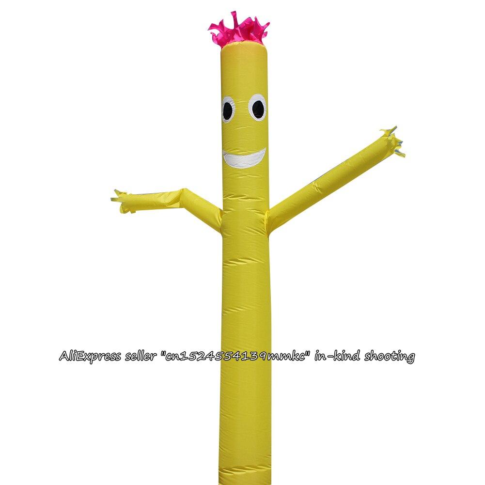 Yellow 20ft NEW Air Sky Inflatable Tube Puppet Man Dancer Puppet Wind Dancer
