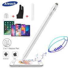 Активный стилус Карандаш для Apple iPhone iPad Рисование емкостный сенсорный стилус ручка для huawei Xiaomi телефон samsung S8 S9 S10 Plus