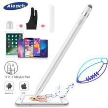Aktif Stylus kalem Apple iPhone iPad çizim kapasitif dokunmatik kalem Stylus Huawei Xiaomi telefonu Samsung S8 S9 S10 artı