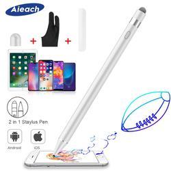 Aktywny rysik ołówek dla Apple iPhone iPad rysunek pojemnościowy dotykowy długopis stylus dla Huawei telefon xiaomi Samsung S8 S9 S10 Plus w Rysiki do telefonów komórkowych od Telefony komórkowe i telekomunikacja na