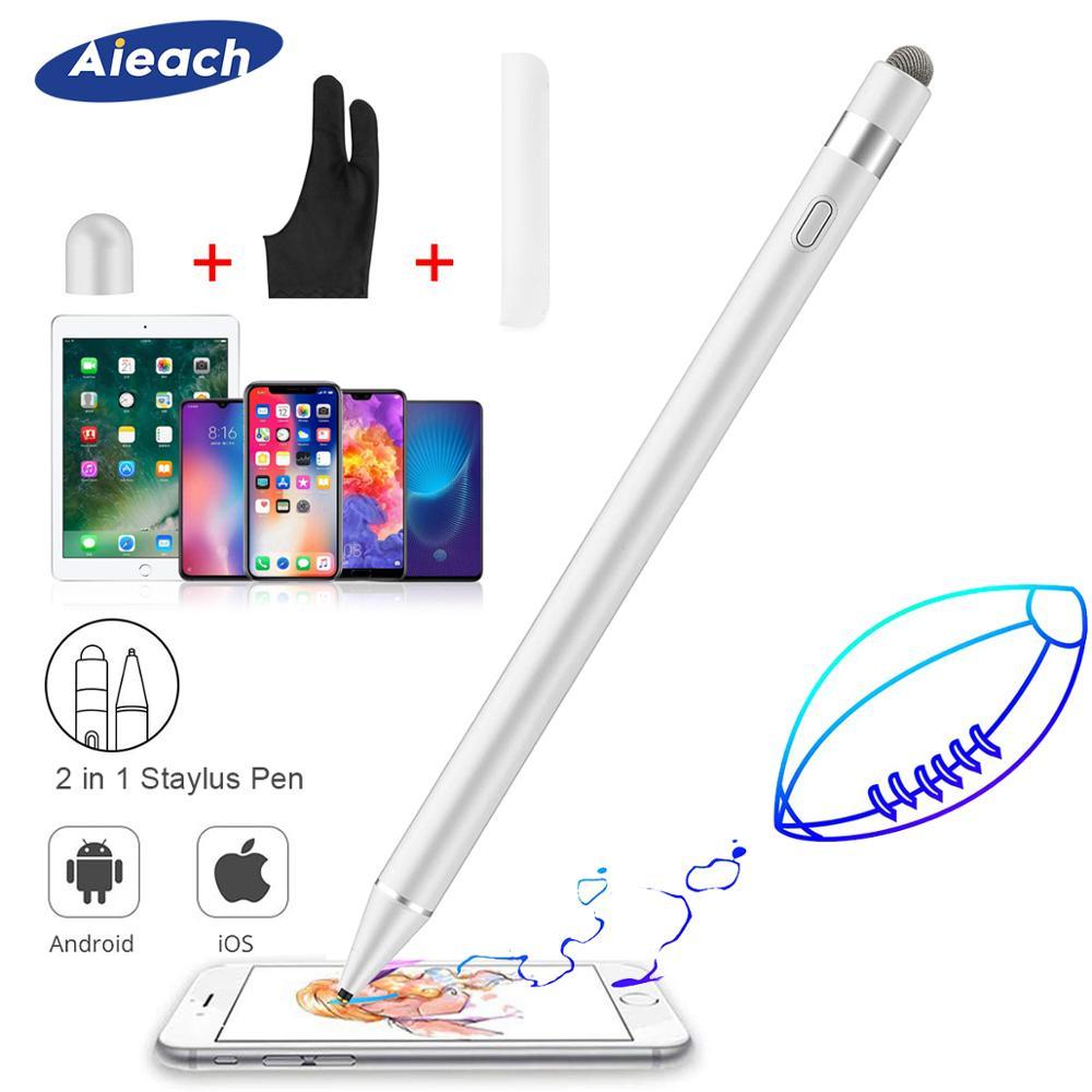 Stylet actif crayon pour Apple iPhone iPad dessin capacitif tactile stylet pour Huawei Xiaomi téléphone Samsung S8 S9 S10 Plus