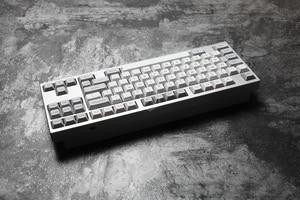 Image 4 - dsa granite grey colorway dsa profile Dye Sub Keycap Set PBT plastic for keyboard gh60 xd60 xd84 cospad tada68 rs96 87 104 660
