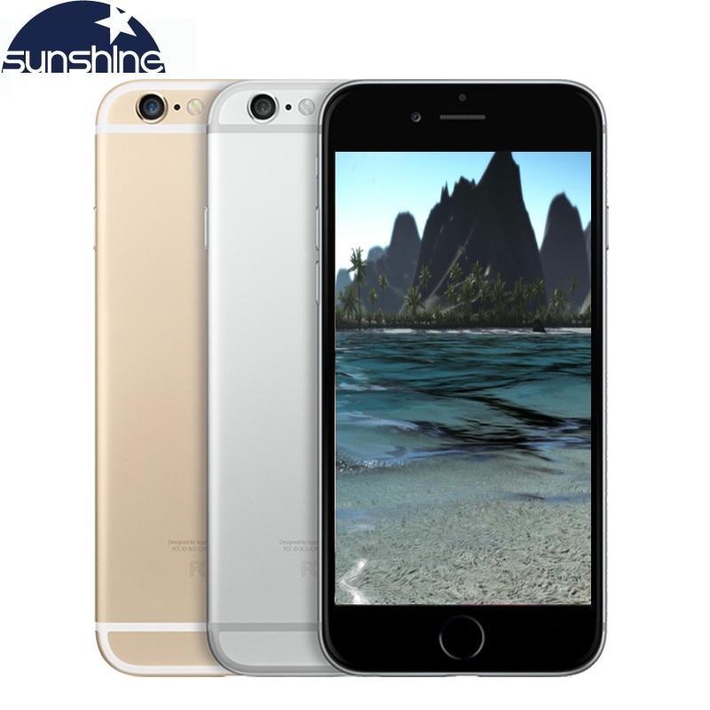 Original Unlocked Apple iPhone 6/iPhone 6 Plus LTE Used Mobile Phone 1GB RAM 16/64/128GB ROM iOS Cell phone
