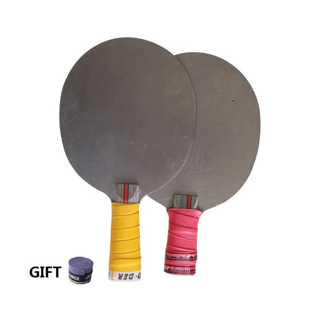 Metal table tennis blade Pingpong Table tennis racket blade weight training iron Training racket