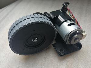 Image 4 - الأصلي اليسار اليمين عجلة مع محرك ل جهاز آلي لتنظيف الأتربة ilife A6 A8 ilife X620 X623 جهاز آلي لتنظيف الأتربة أجزاء عجلة المحرك