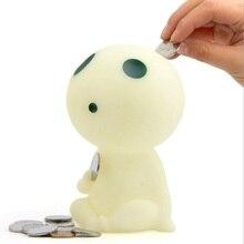 цена на 6''Anime Studio Ghibli Hayao Miyazaki Princess Tree Elves Figurine Money Box Princess Companion Wolf Tree Elf Piggy Bank toy