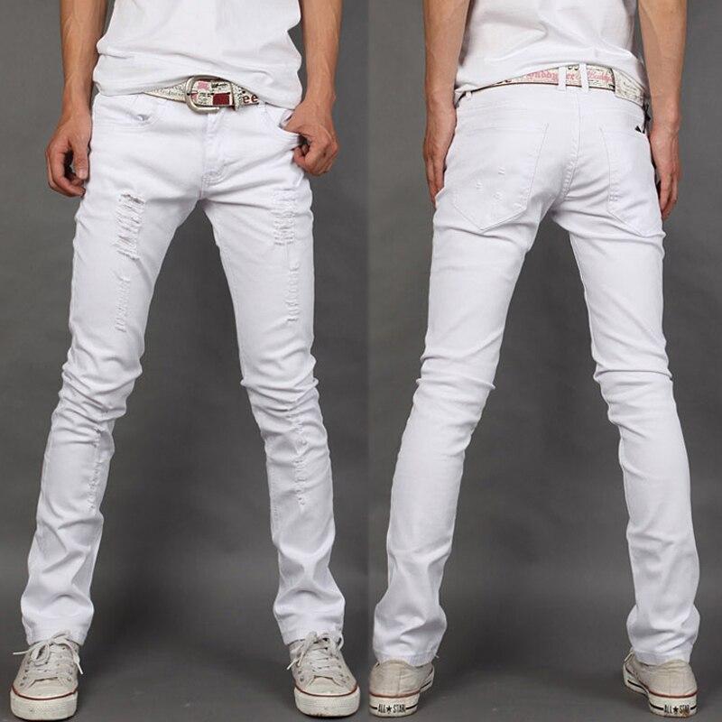 Popular Men's White Jeans-Buy Cheap Men's White Jeans lots ...