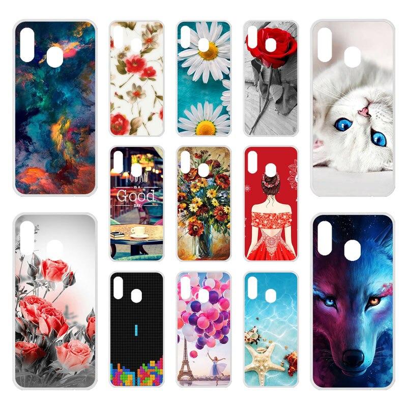 1245d8d892 Silicone Phone Cases For Samsung Galaxy A30 Case On The For Samsung A30 A20  A 20 A 30 2019 A305 A305F SM-A305F Cover Fundas Capa