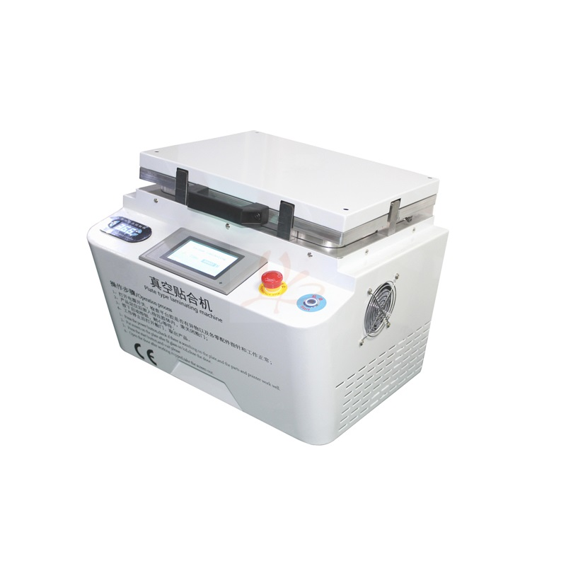 NEW auto air lock LY 888A+ soft hard plate type OCA vacuum laminator 12 inches combined laminating and defoaming machine