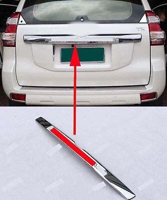 Garniture de couvercle de coffre de porte arrière chromé pour Toyota LAND CRUISER PRADO FJ150 14-16