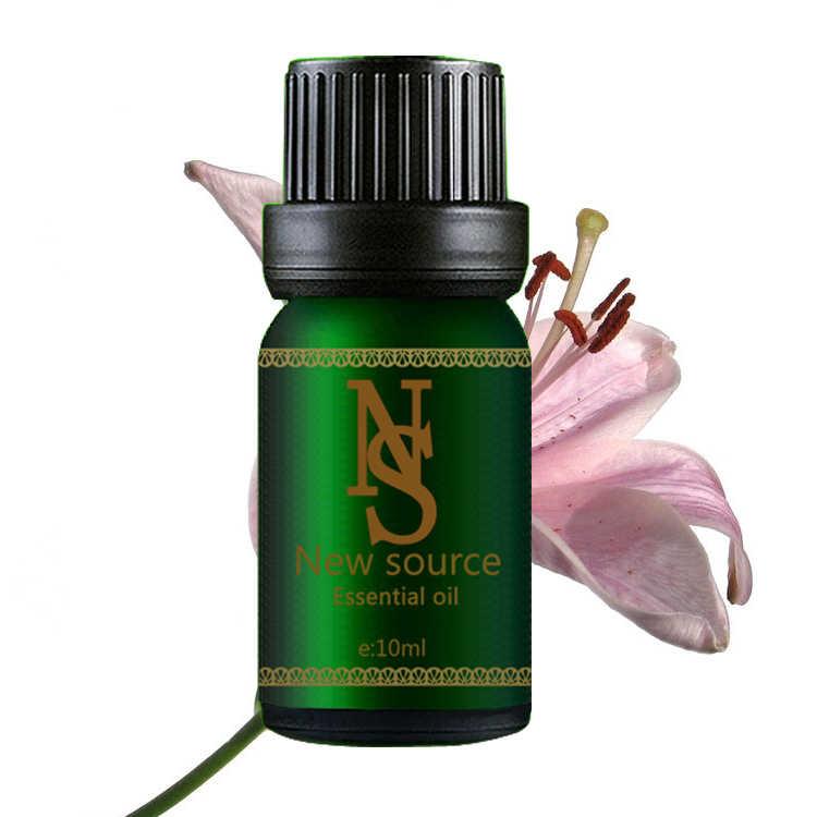 Minyak esensial murni tanaman minyak lily 10 ml pelembab mengupas dan memurnikan huile aromathérapie A1