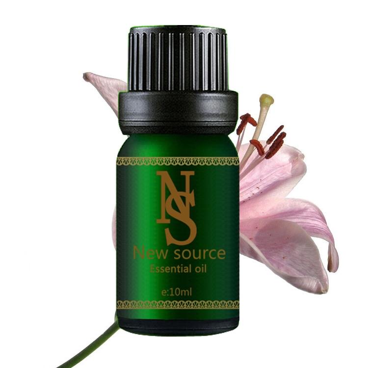 Minyak esensial murni tanaman minyak lily 10ml pelembab mengupas dan memurnikan Aromatherapy oil