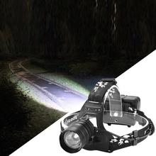 Head Lamp LED USB Charging LED Headlight Flashlight Portable Head Light for Cycling Camping Outdoor Headlamp Waterproof 2 in 1 camping tent led headlamp outdoors portable light handy torchlight waterproof led headlight high power cycling bicycle bike